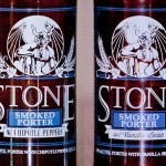 Stone Smoked Porter w/Chipotle and w/ Vanilla Beans