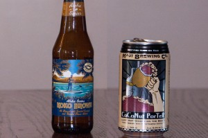 Kona Brewing Koko Brown and Maui Brewing Co. CoCoNut Porter
