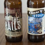 Karl Strauss Off The Rails and Kerning Brewing Co. Class V Stout