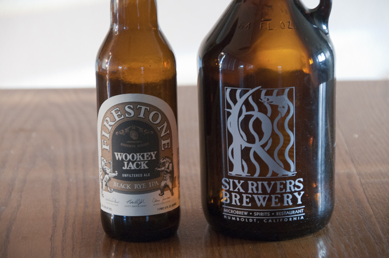 Firestone Walker Wookey Jack and Six Rivers Brewery Chile Pepper Ale