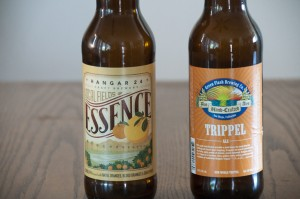 Hangar 24 Essence and Green Flash Brewing Co. Trippel Ale
