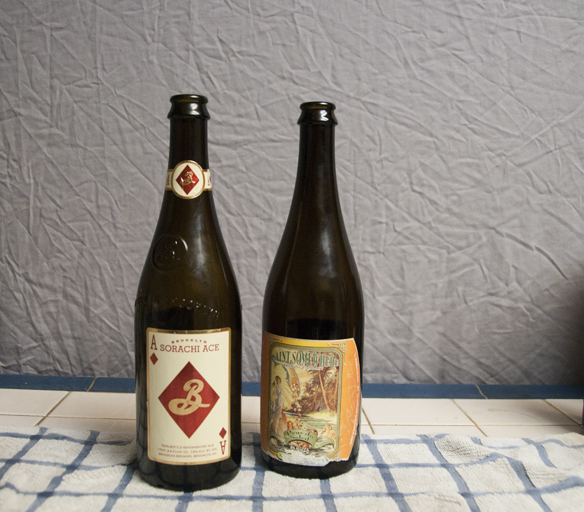 Brooklyn Brewery Sorachi Ace and Saint Somewhere Brewing Company Pays du Soleil