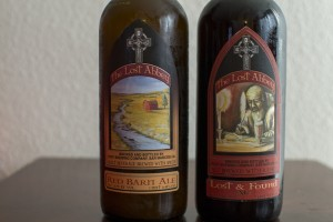 The Lost Abbey Red Barn Ale and Lost & Found Ale