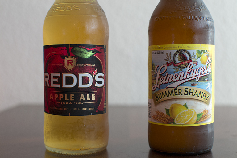 Redd's Brewing Company Redd's Apple Ale and Lenenkugel's Summer Shandy