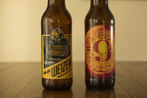 Black Market Brewing Co. Hefeweizen and Magic Hat Brewing Company #9