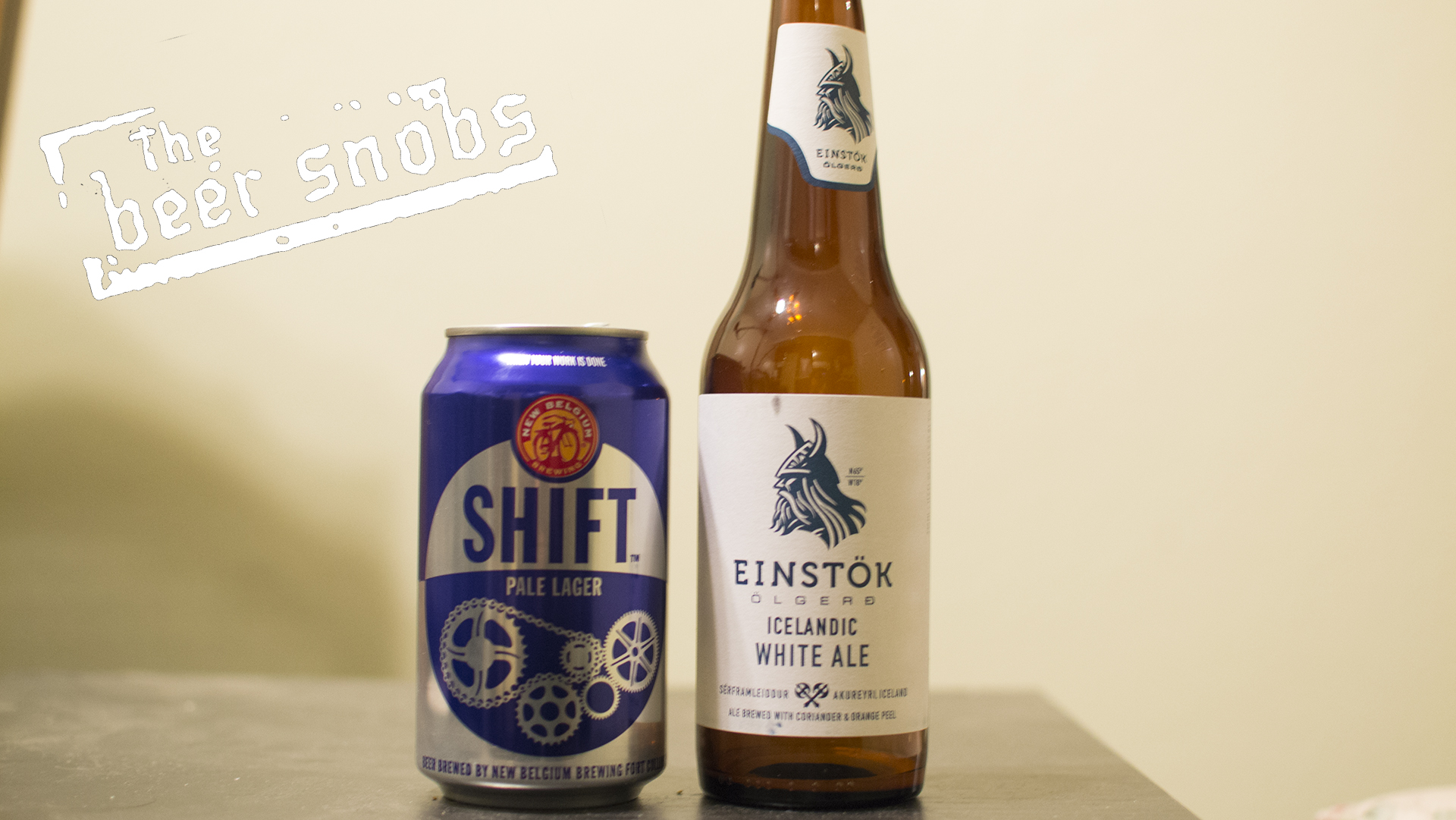 New Belgium Shift and Einstock Icelandic White Ale