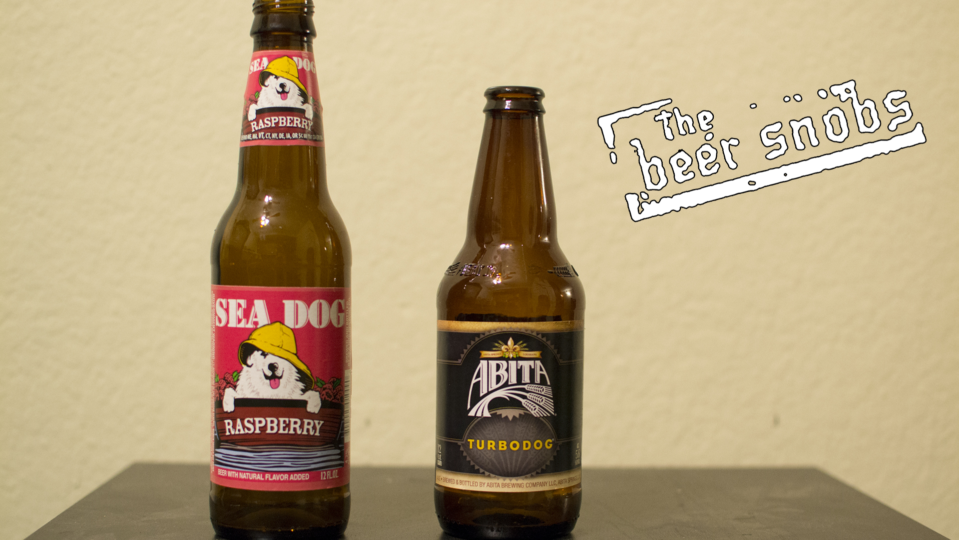 Sea Dog Raspberry and Albita Brewing Company Turbodog