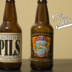 Lagunitas Brewing Company Pils and Mad River Brewing Company Steelhead Porter
