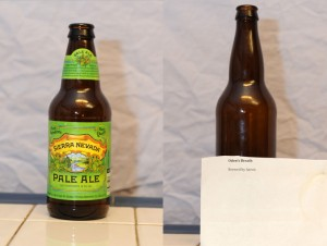 Sierra Nevada Pale Ale and Aarons Oden's Breath