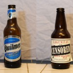 Cerveza Quilmes and Lagunitas Censored Ale