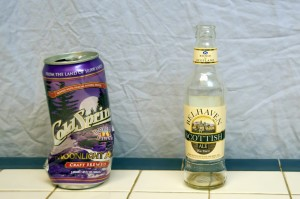 Cold Spring Moonlight Ale and Belhaven Scottish Ale