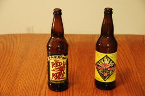 Bear Republic Red Rocket Ale and Pike Naughty Nellie
