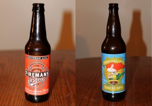 Firemans Brew Redhead Ale and Cornado Brewing Co. Idiot IPA