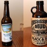 Cismontane Brewing Company The Citizen California Lager and MIssissippi Mud