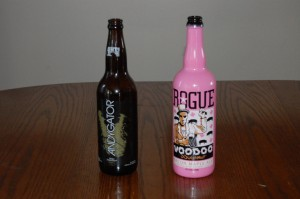 Abita Brewing Co. Andygator and Rogue Brewery's Voodoo Doughnut Bacon Maple Ale