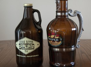 Kern River Brewing Co. Sequoia Red and Triple 7 Brewery Mango Hefeweizen