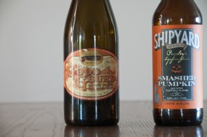 Cigar City Brewing's Good Gourd and Shipyard Brewing Co. Smashed Pumpkin