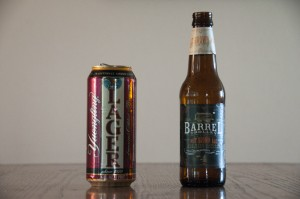 Yuengling's Traditional Lager and Barrel Trolley Brewing's Nut Brown Ale