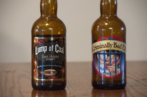 Ridgeway Brewing Lump of Coal and Criminally Bad Elf