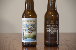 Hangar 24 Hullabaloo Winter Beer and  Ken Schmidt / Iron Fist / Stone Mint Chocolate Imperial Stout