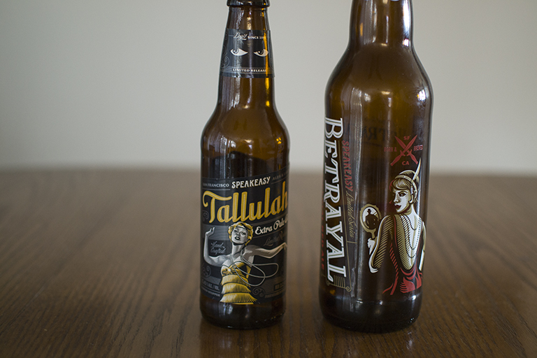 Speakeasy Ales and Lagers Tallulah Extra Pale Ale and Betrayal Imperial Red
