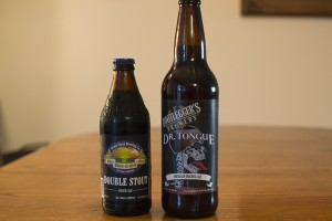 Bootleggers Brewery Dr. Tongue and Green Flash Brewing Co. Double Stout Black Ale