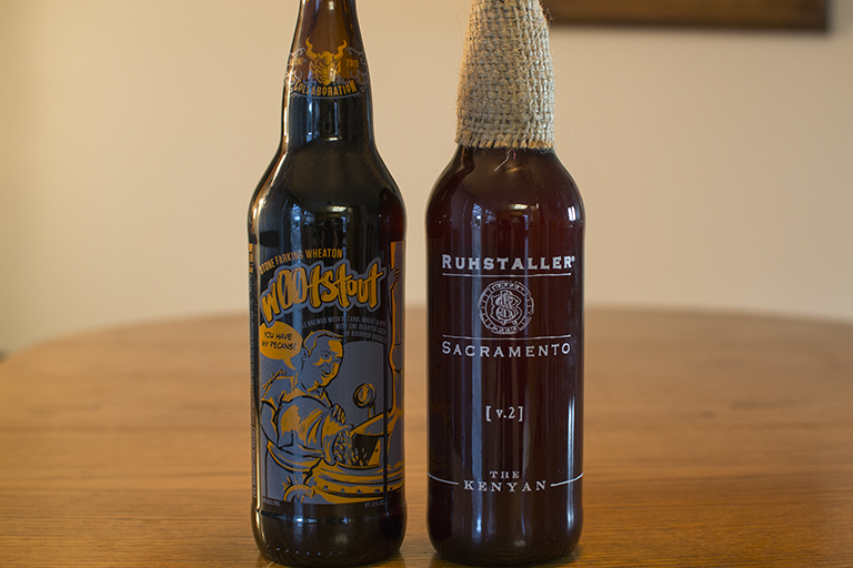 Ruhstaller The Kenyan and Stone Farking Wheaton W00tStout
