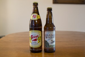 Stiegl Radler and Hangar 24 Brewery Orange Wheat