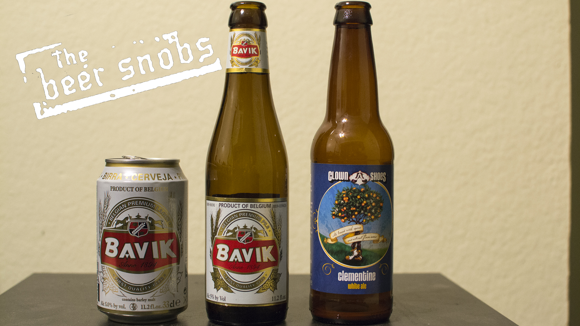 Bavik Premium Pils/Lager and Clown Shoes Clemintime